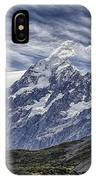 Mt. Cook IPhone Case