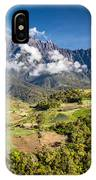 Mt. Kinabalu - The Highest Mountain In Borneo IPhone Case