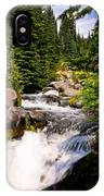 Mt. Rainier Waterfall IPhone Case