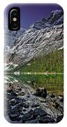 Mt.edith Cavell IPhone Case
