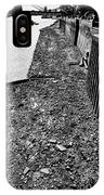 mud banks of the river thames and reinforced pilings at southwark London England UK IPhone Case