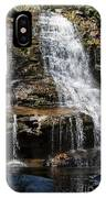 Muddy Creek Falls At Low Water At Swallow Falls State Park In Western Maryland IPhone Case