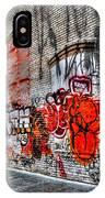 Mulberry Street Graffiti IPhone Case