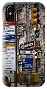 Mulberry Street New York City IPhone Case