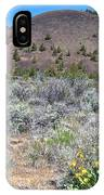 Mule's Ears And Schonchin Butte In Lava Beds Nmon-ca IPhone Case