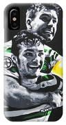 Mulgrew And Watt - Glasgow Celtic Fc IPhone Case