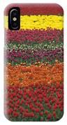Mult-colored Tulip Field IPhone Case
