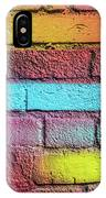 Multi-colored Brick Wall IPhone Case