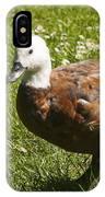 Multi-colored Paridise Duck IPhone Case