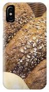 Multi Grain Bagels Closeup IPhone Case