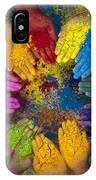 Multicoloured Hands IPhone Case