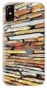 Multicoloured Slate Wall IPhone Case