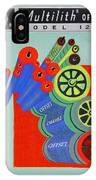 Multilith 1250 Ink Rollers Cylinders IPhone Case
