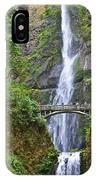 Multnomah Falls 4 IPhone Case