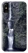 Multnomah Falls - Columbia Gorge - Oregon State IPhone Case