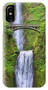Multnomah Falls I IPhone Case