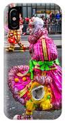 Mummer In A Pink Dress IPhone Case