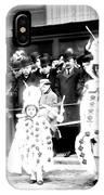 Mummers Circa 1909 IPhone Case