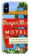 Munger Moss Motel IPhone Case
