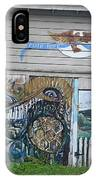 Mural Along Westerlo Avenue IPhone Case