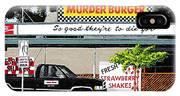 Murder Burger IPhone Case