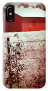Murder In The Red Barn IPhone Case