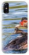Muscovy Hen IPhone Case