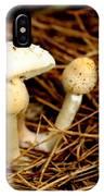 Mushroom 3 IPhone Case