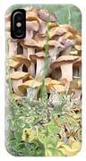 Mushroom Gold IPhone Case