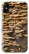 Mushroom Log IPhone Case