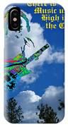 Music Up In The Clouds Again IPhone Case