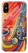 Musical Abstract IPhone Case