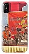 Musicians At Hindu Festival Of Ram Nawami In Kathmandu-nepal IPhone Case