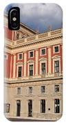 Musikverein Gesellschaft Der Musikfreunde Building Vienna Austria IPhone Case