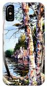 Muskoka Reflections IPhone Case