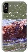 Muskrat's Dinner IPhone Case