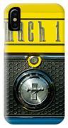 Mustang Mach 1 Emblem 2 IPhone Case