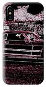 Mustang Rose IPhone Case