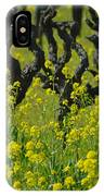 Mustard And Old Vines IPhone Case