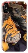 My Battle Scarred Roller Derby Skates  IPhone Case