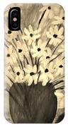 My Daisies Sepia Version IPhone Case