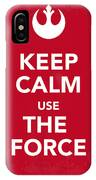 My Keep Calm Star Wars - Rebel Alliance-poster IPhone Case