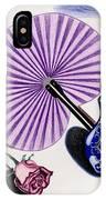 My Purple Fan IPhone Case