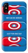 My Superhero Pills - Captain America IPhone Case