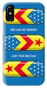 My Superhero Pills - Wonder Woman IPhone Case