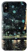 My Van Gogh Eiffel Tower IPhone Case