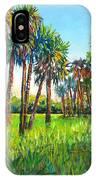 Myakka Palms IPhone Case