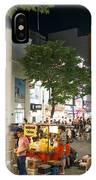 Myeongdong Shopping Street In Seoul South Korea IPhone Case