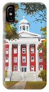 Myers Hall IPhone Case