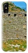 Myra's Roman Theatre In Fourth Century-turkey IPhone Case